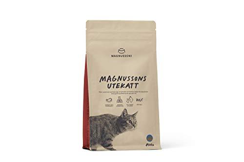 MAGNUSSONs Utekatt Trockenfutter für Katzen, 0.8 kg