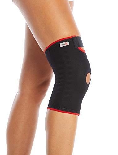 ArmoLine Kniebandage für Patellafemorale Schmerzen Gelenkunterstützung Kniebandage Meniskusriss Kreuzbandverletzungen Jumper's Knie Arthritis Kniebandage Männer Frauen verstellbarer Kniestabilisator
