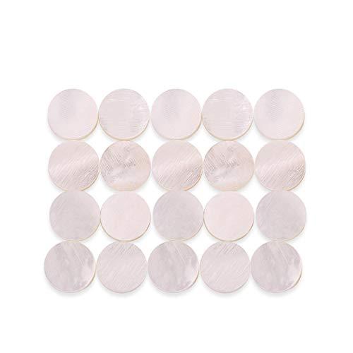 Fácil de Instalar, Material de Concha de Perla Blanca,...