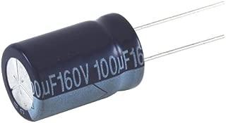Axial Lead NTE Electronics NEHH10M160CC Series NEHH Aluminum Electrolytic Capacitor 160V Voltage Inc. 10 /µF Capacitance 20/% Capacitance Tolerance