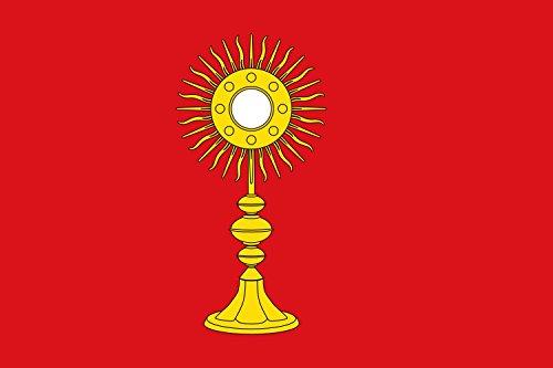 magFlags Bandera Large Proporciones 2 3, roja | Bandera Paisaje | 1.35m² | 90x150cm