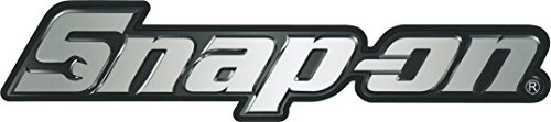 Snap-on tools chrome magnet decal compatible with toolbox fridge Workbench Mancave Workstation