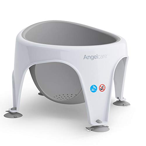 Angelcare Soft Touch Bad Sitz (Aqua)–Grau
