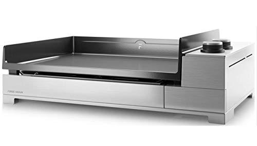 Forge Adour - Premium e 60 i - Plancha électrique 3200w Plaque Fonte émaillée 60x42cm