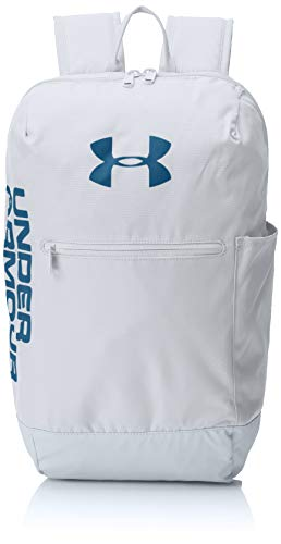 Under Armour UA Patterson Backpack, Zaino Unisex Adulto, Grigio MOD Gray/Petrol Blue 011, Taglia Unica