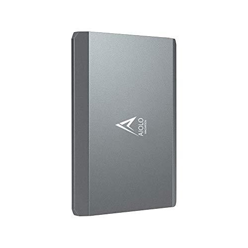 AIOLO 1TB Disco Duro Externo portátil Aleación de Aluminio Tipo...
