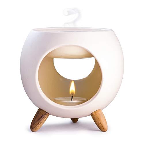 Kaloogo Sabai Scent Keramik Duftlampe rund (Duftlicht) (Natur)