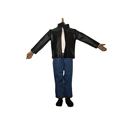 QQAA 1/6 escala de acción figura traje muñeca accesorios muñeca modelo ropa juguetes disfraz chaqueta traje traje traje para muñeca femenina modelo juguete moda