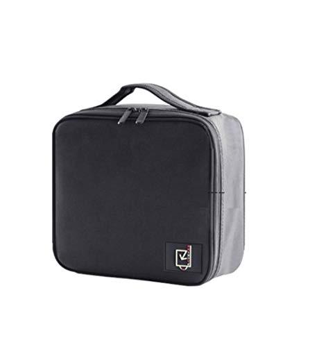Beauty Bag Travel Bag Sac cosmétique Portable Corps Portable Artiste maquilleur avec Le Maquillage Noir