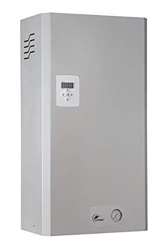 Zentralheizung Elektrokessel Leistung zur Auswahl 4, 6, 9, 12, 15, 18,24 kW Elektrotherme Elektrische Heizung Grundfos Hocheffizienzpumpe (12 kW)