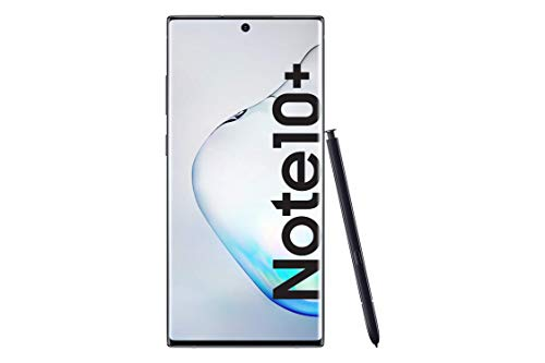 "Samsung Galaxy Note10+ Display 6.8"", Aura Black, 256 GB Espandibili, RAM 12 GB, Batteria 4.300 mAh, 4G, Dual SIM, Smartphone, Android 9 Pie [Versione Italiana] 2019"