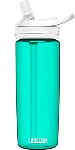 CAMELBAK Eddy+ Botella de agua sin BPA con pajita de 20 oz, Spectra y tapa blanca