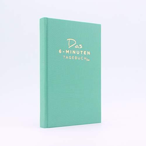 Das 6-Minuten Tagebuch PUR   Dankbarkeitstagebuch, Anti-Stress Tagebuch   Täglich 6 Minuten für deine Persönlichkeitsentwicklung, mehr Selbstliebe & Achtsamkeit (türkis)