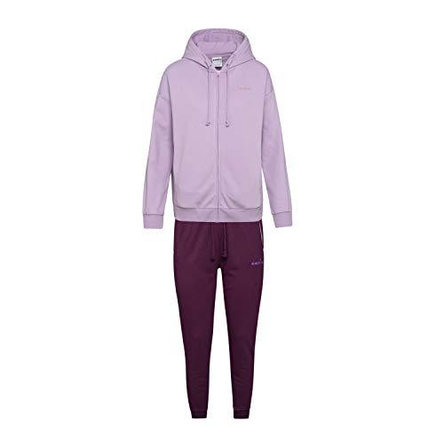 Diadora - Trainingsanzug L.FZ Cuff Suit CORE für Frau DE XL