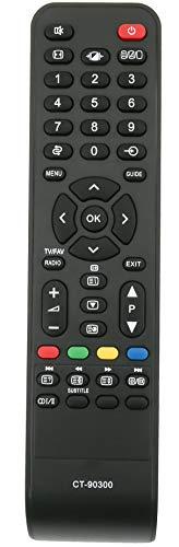 ALLIMITY CT-90300 Mando a Distancia reemplazado por Toshiba REGZA LCD TV 19AV505D 26AV505 26AV505D 32AV503D 32AV505 32AV505D 32AV515D 32AV555D 32AV563D 37AV504D 37AV505D 37AV555D