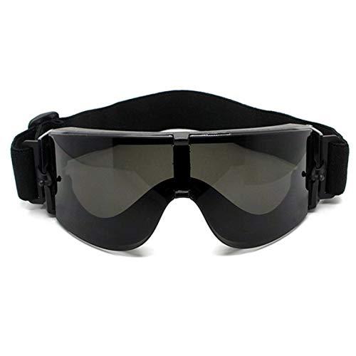 Wolfberrymetal Montatura per Occhiali Militari Lenti per Occhiali Militari, Occhiali Militari Occhiali Tattici Airsoft X800 Occhiali da Sole Occhiali da Vista Occhiali da Vista Occhiali da Motore