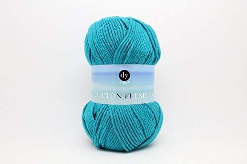 DY Choice COTTON FRESH DK Double Knitting Yarn / Wool 100g 09 Teal