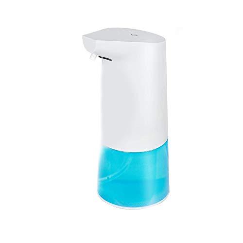 Dispensador automático de jabón o champú, dispensador de Gel desinfectante para Manos Dispensador de líquidos para baño o Cocina Dispensador infrarrojo de 350 ml Baño de Burbujas Amuchina