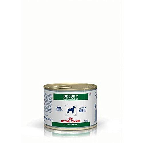 Royal Canin Obesity Management Boîte Nourriture pour Chien 195 g