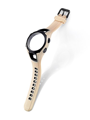 KHS Kunststoffband inkl. Gehäuse | Striker Tan, Ersatzarmband, KHS.EBSTT.S, Uhrenarmband