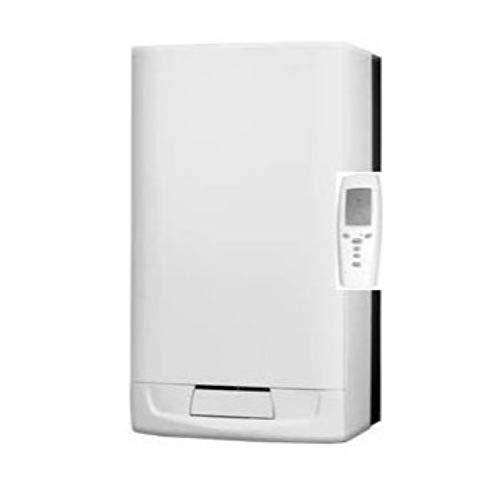 Caldera a gas de condensación Isofast Condens 35 - B mural mixta instantánea con una potencia de 35kW incluye mando a distancia Exocontrol E7 R, 89 x 47 x 38 centímetros (referencia: 12022801)