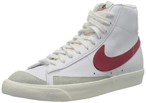 Nike Herren Blazer Mid '77 VNTG Basketballschuh, White/Worn Brick-Sail, 43 EU