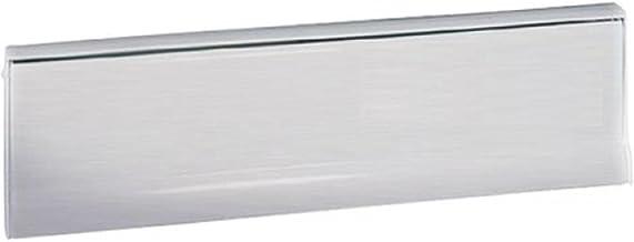 RENZ /Enkele brievenbus voor deuren & poorten/RAL-kleur / 17 liter doorwerpkast/roestvrij staal V4A-inwerpklep/Deinbrieven...