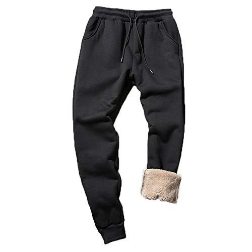 XYJD Herbst und Winter Plus samtdicke Freizeithose warme Sport-Langhose für Männer Plus Fett Plus Größe