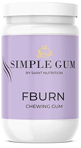 Saint Nutrition® Simple Gum - FBURN Kaugummi, für den Stoffwechsel schnell - Damen & Herren