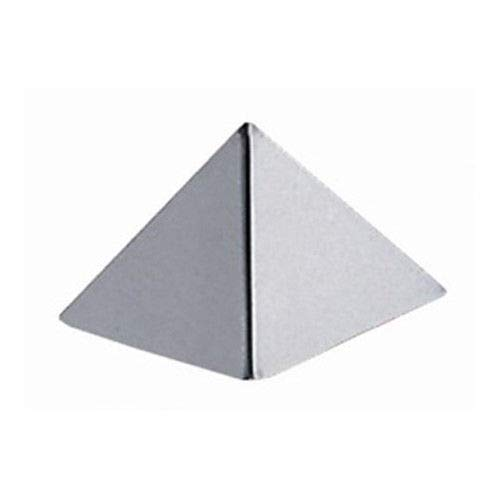 New Rantepao - Stainless Steel Pyramid Dessert Mold 1.5 Base, 1 High
