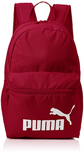 PUMA Phase Backpack Mochilla, Unisex Adulto, Rojo (Rhubarb