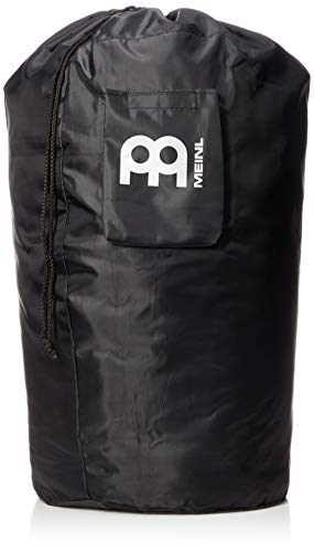 Meinl Percussion Conga Drum Gig Bag, Universal Size Drawstring Top — Heavy-Duty Fabric, Accessory Pocket and Shoulder Strap, 2-YEAR WARRANTY, Black (MSTCOB)