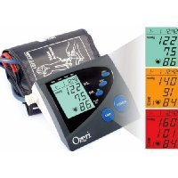 Ozeri BP4M Digital Arm Blood Pressure Monitor with Hypertension Color Alert...