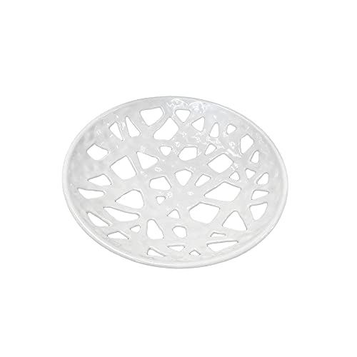 La Porcellana bianca Frutero bandeja redonda perforada Traifori blanco Ø36 cm