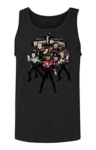 Sunyuer Camiseta sin Mangas para Hombre Horror Movie Killers Rangers se reúnen sin Mangas de Halloween Fan Gift