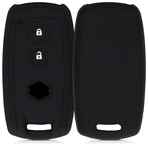 kwmobile Funda de Silicona Compatible con Suzuki Llave de Coche Smartkey de 2 Botones (Solo Keyless