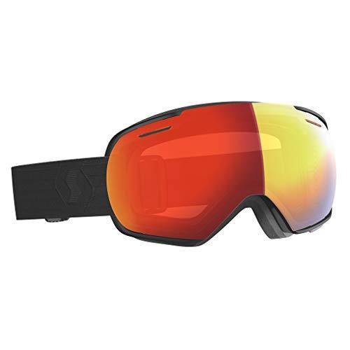 Scott Linx Goggle Rot-Schwarz, Skibrille, Größe One Size - Farbe Black - Enhancer Red Chrome
