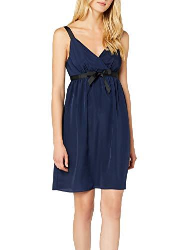 Naf Naf Ladys R1 Vestido, Azul (Bleu Nuit), 34 para Mujer