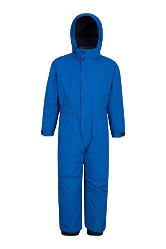 Mountain Warehouse Cloud All in One Kids Snowsuit - Waterproof One Piece, Taped Seams, Fleece Lined...