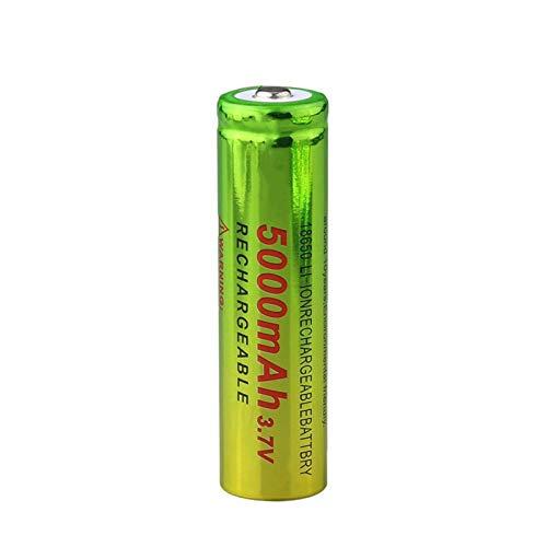 prbll 18650 BateríAs De Litio con Tapa Plana De 3.7v Voltios 2600mah, Batería De Alto Drenaje 10A para Banco De Energía 10pieces