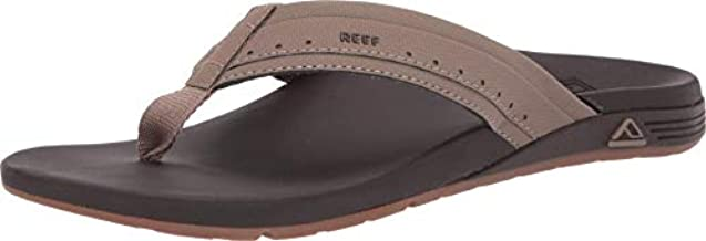 REEF Men's Ortho-Spring Flip-Flop, Brown, 11