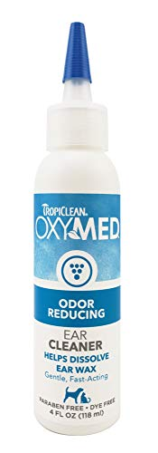 TropiClean OxyMed Ear Cleaner for Pets