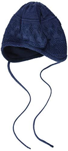 maximo Baby-Jungen Band Beanie-Mütze, indigomeliert, 39
