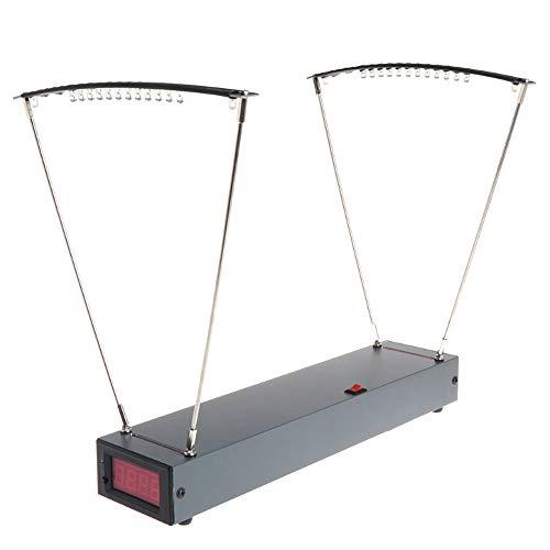 Festnight Velocimetry Geschwindigkeitsmessgerät Pro Bogen Geschwindigkeitsmesswerkzeug Aluminiumlegierung Professionelle E9900-X