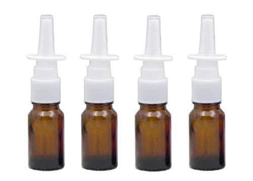 Nasenspray-Flaschen nachfüllbar, 10 ml, aus Glas, Zerstäuber mit feinem Nebel, Make-up, Wasser, Reisen, Behälter