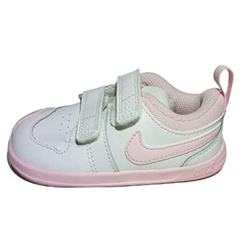 Nike Pico 5 (PSV), Scarpe da Ginnastica Unisex-Bambini, White Pink Foam, 23.5 EU