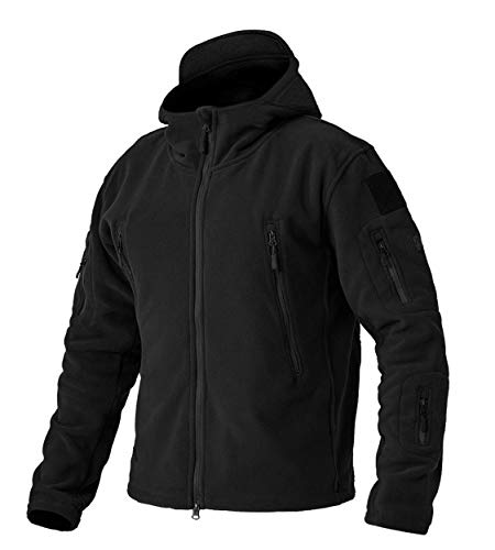 GEMYSE Men's Mountain Waterproof Ski Snow Jacket Winter Windproof Rain Jacket (Black,Medium)