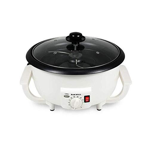 110V Electric Coffee Roaster Household Coffee Bean Roasting Baking Machine 800g Capacity