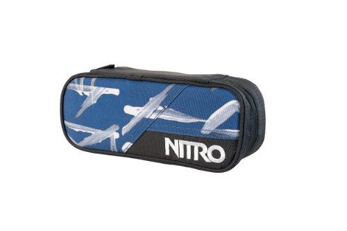 Nitro Snowboards Federmäppchen Pencil Case, Smear Midnight, 20 cm x 8 cm x 6 cm