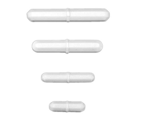 Magnetic Stir Bar Combo Pack, Large Sizes - 30mm, 45mm, 60mm & 70mm